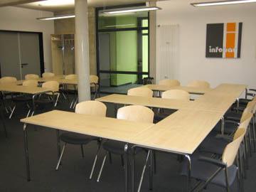 Seminarraum / Schulungsraum buchen im BKZR, Castrop-Rauxel