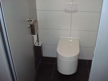 Damen WC / Sanitäranlage im Baukompetenzzentrum Ruhr