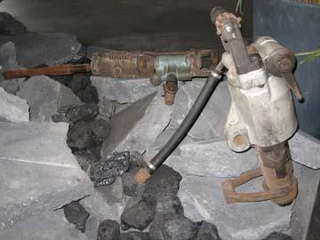 Bergbauausstellung im BKZR
